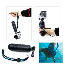Buy Floaty bobber Strap Screw Hand Grip Bar Pole Stick Gopro 5 4 3 Xiaomi Yi SJ4000 SJCAM 4K Go Pro Action Camera Accessories for $3.46 in AliExpress store