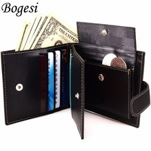 Hot Sale New style hasp fashion brand quality purse wallet for men design men's wallets with coin pocket(China)