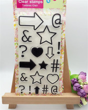 kinds of form frame for diy scrapbooking photo album clear stamp wedding gifr paper card craft christmas gift CL-220