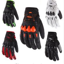 SADX  2017 gel leather bomber carbon fiber bike off road bike bicycle cycling Mens race BMX MTB gloves ATV MX fox