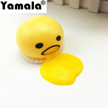[Yamala] 1 piece Novelty Magic Egg Tricky Toy with box Gudetama antistress slime eggs Fun toys For Kid or adult Gift Gadget