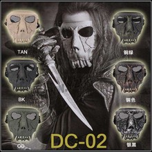 DC-01 Treasure hunter Full Face Airsoft Paintball Mask For halloween Party CS Wargame Field game Cosplay Movie Prop