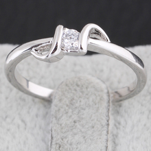 New Arrival fashion wedding  tail ring  wholesale pinky ring KUNIU J27027