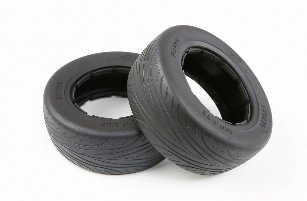 ON Road tire fit for 1/5 scale Losi 5IVE-T  ROVAN LT ,KING MOTOR  X2<br>