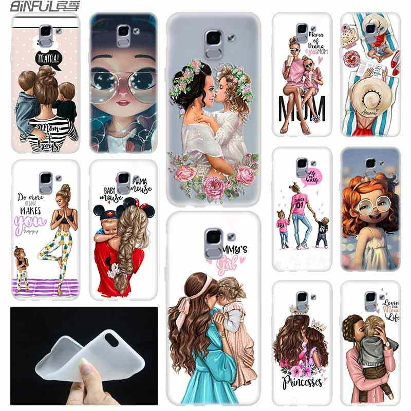 Baby Mom Girl case Cover TPU C...