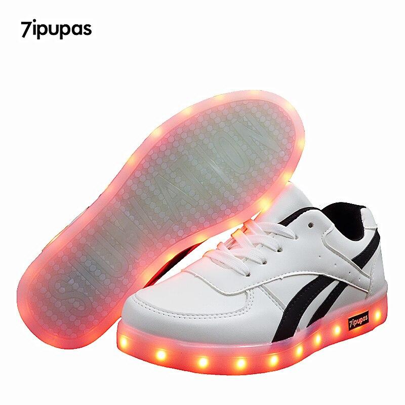 USB Charging Tenis Led shoes kids Feminino Basket Led Light Up Trainers Kids Boy Girl Luminous Led Sneakers Child Glowing Shoes