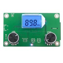 DSP PLL Digital Stereo FM Radio Receiver Module 87-108MHz With Serial Control Frequency Range 50Hz-18KHz(China)