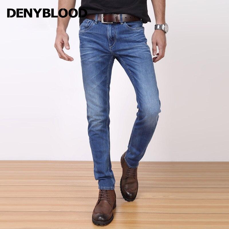 Denyblood Jeans 2017 Spring Summer Mens Lycra Stretch Denim Jeans Tie Dye Wash Slim Straight Casual Pants Trousers 718707Îäåæäà è àêñåññóàðû<br><br>