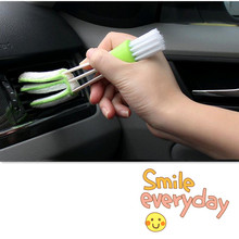 2017 new 1PCS car cleaning brush Accessories for nissan rogue ford mustang suzuki swift toyota shell lexus is250 audi q7 vw polo(China)