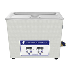 Skymen 6.5L 180W Ultrasonic Cleaner Bath Jewellery Watches Glasses Mental Parts PCB Digital Stainless Steel(China)