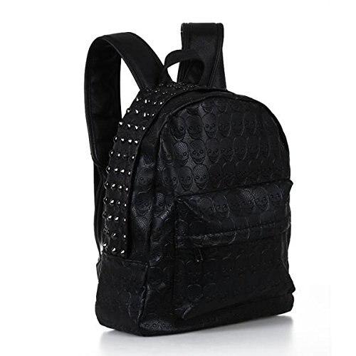 SCYL Women Backpack Bag Rivet skull leather backpack rivets skull backpack<br><br>Aliexpress