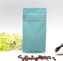 .01.19/ 9*5*18.5 kraft paper(Foil Inlay) zipper&stand up bag Coffee Beans/tea Storage Bag without valve