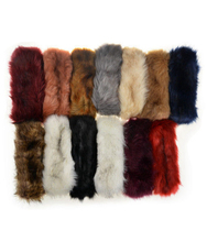P17106 fashion new fur winter headbands comfort solid plain hair headband winter head bands for women