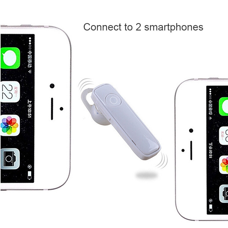 LETIKE Bluetooth 4.1 Headset Ultralight Wireless Earphone Hands-free Earloop Earbuds for Phone Sports Calls Music Earpieces M165