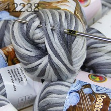 LOT Color optional 1 BallsX50g Special Thick Worsted 100% Cotton Knitting Yarn 422-38(China)
