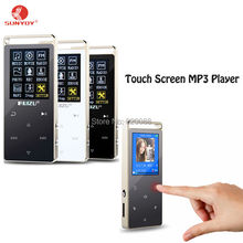 Touch Screen 4GB/8GB Mp3 MP4 Player With 1.8 Inch Screen Touch button Can Play 100 hours, With FM,E-Book,Multifunction
