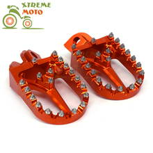 Orange CNC Foot Pegs Rests Pedals For KTM EXC SX SXF XC XCW XCF EXCF EXCW XCFW MX SIX DAYS 65 85 125 200 250 300 350 400 450 525(China)