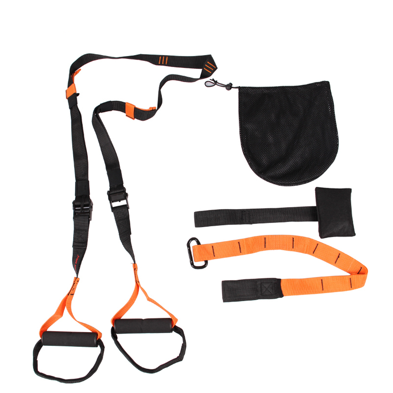Hanging training with Txr resistance bands pull ro...