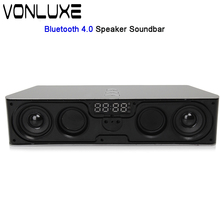 Super Bass Portable Bluetooth Speaker 4.0 Big Powerful 6W Soundbar Wireless Stereo Sound Box with DSP Noise Reduction Mic(China)