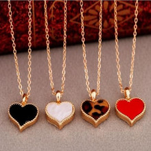 Ahmed Jewelry Fashion Alloy Heart Pendant necklace For Woman 2015 New Statement Woman 2015 New N248