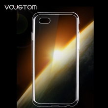 vcustom For apple  ipod touch 4 4th soft clear TPU silicone  Case Crystal Silicone Cover