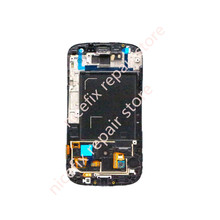 Free Shipping Display for Samsung Galaxy S3 III i9300 LCD with Touhch screen Digitizer With Frame + Volume/Power/Home Button(China)
