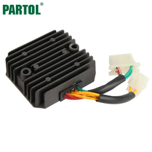 Partol Motorcycle Regulator Rectifier Voltage for Honda XLV600 XLV750R XL600V VF700C VF700 VF 700 C MAGNA 700 V SHADOW DC12V(China)