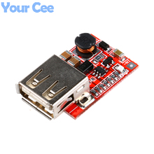 5 pcs DC-DC Converter Output Step Up Boost Power Supply Module 3V to 5V 1A USB Charger For Phone MP3 MP4 96% Efficiency(China)