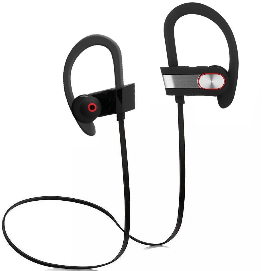 GDLYL Sports Bluetooth Earphone Ear Hook Earbuds Wireless Headphone Noise Calcelling Portable Headsets 100mAh with MIC<br><br>Aliexpress