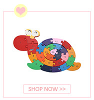 Colorful Wooden Tangram Tetris Game Brain Teaser Puzzle Toys Baby Preschool Magination Early Educational Kids Toy Children Gift 5