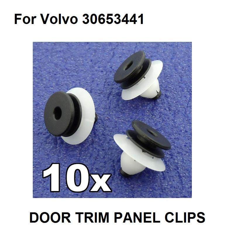 20x SEAT Plastic Trim Clips for Headlining Pillars /& Interior Trim Roof Lining