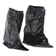 Waterproof raincover pocket bike overshoes sts shoes Shoe Cover New Color: black Size:M(China)