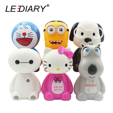 LEDIARY LED Rechargeable Cartoon Desk Lamp 220V Book/Reading Lamp Baymax Bear Backkom Monkey DDCAT Hello Kitty Minions Dog(China)
