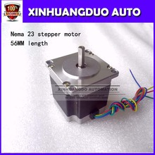 Best sellers! Free shipping 1 PCS,CNC Router Lathe Nema 23 175 Oz-In Stepper Motor 2 Phase3.0A 1.8 Degree 57x56mm