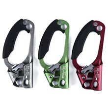 4 Colors Professional Arborist Rock Climbing Mountaineer Right Hand Grasp Ascender Device Riser For Climbing Hand Ascender Cavin(China)