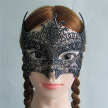 hot sell silver Sexy Lady Lace Mask Eye Mask for Masquerade Party Fancy Dress Costume Hallowmas mask M186