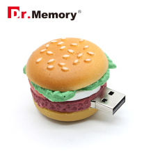 funny 4GB 8GB 16GB 32GB Cute Memoria  French Fries Shape USB Flash Drive pendrive chips Car Key Memory Stick Pen Drive