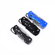 1pcs High Quality Swiss Knife Outdoor Camping Survival Army Folding Knife Multifunctional Tool Pocket Knife EDC new cool(China)
