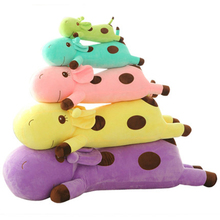 Large Giraffe Stuffed Animal Toys Soft Pillow Kawaii Birthday Gifts For Girls Peluches Bebe Big Giraffe Plush Toy 70C0232