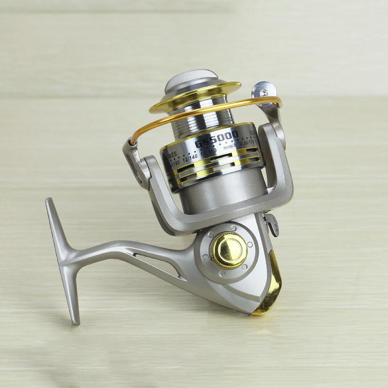 Metal Fishing Reel 8 Bearing Balls Fishing Spinneret 5.11 1000-7000 Series Fishing Line Wheel Gear Tackles GS1000-7000 (4)