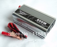 800W DC12V/24V to AC 220V Car Power Inverter Silver High Quality and Competitive Price 800G Free Shipping(China)