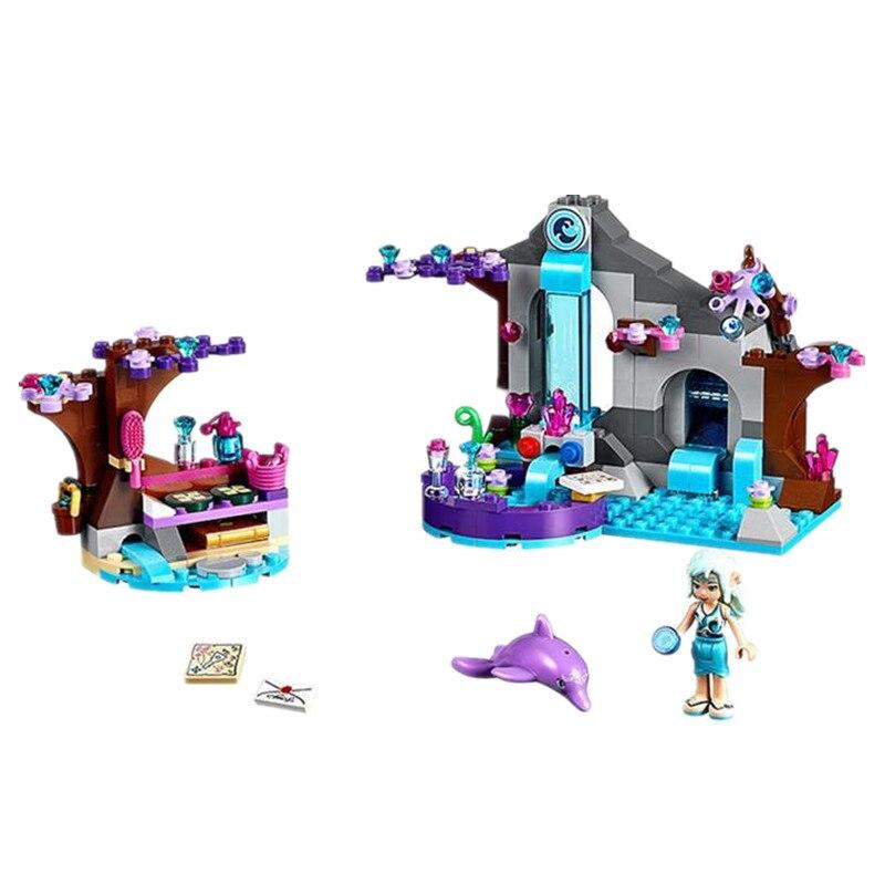 2017 New BELA 10410 Princess Girl Naidas Secret Spa Building Blocks DIY Educational Toys Bricks Toys For Children friends<br><br>Aliexpress