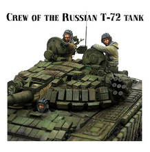 Resin Kits 1/35 Scale Modern Russian army soldiers Chechen war tank soldier Resin Model Free Shipping(China)