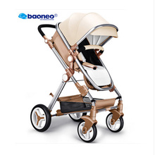 Baoneo stroller transformer 2in1, oley, anershi, dragon baby reviews, stroller made of eco-leather. Stroller with free shipping(China)