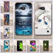 TPU Soft Cases for Fundas Nokia Microsoft Lumia 550 Back Cover for Nokia Microsoft Lumia 550 Cover Mobile Phone Cases(China)