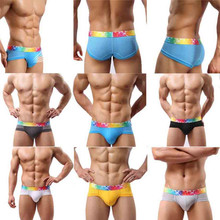 Buy Fashion Hot Sexy Mens Underwear Breathable Briefs Shorts Bulge Pouch Male Soft Comfortable Underpants Men Drop Shipping