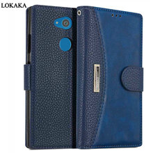 Buy LOKAKA Case Sony Xperia XA2 XA 2 Flip PU Leather Wallet Magnet Phone Bags Cases Sony Xperia XA2 Ultra Card Slot Coque for $8.57 in AliExpress store