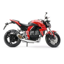 Free Shipping Junki 1:12 Honda motorcycle model HONDA CB 1000R model 6011 red toy motorcycle model Hot Sale