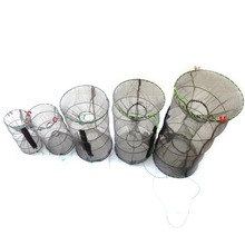 2017 New High Quality Fishing Net Crab Fish Crayfish Lobster Shrimp Prawn Live Trap Net Fishing Accessories 5 Sizes for choice