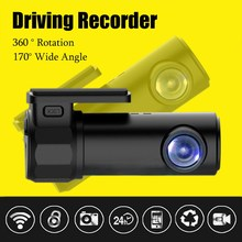 KROAK 1080P Mini Wifi HD Car DVR Video Vehicle Camera Registrar Video Recorder Dash Cam Night Vision